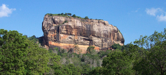 Sigiriya Lion's rock